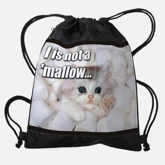 LOLcatsWallCallender-March.png Drawstring Bag