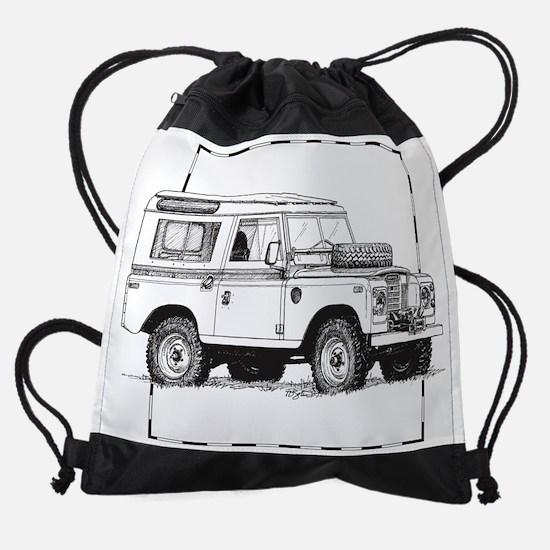 Land-Rover-Series-III.png Drawstring Bag