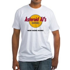 Asteroid Al's Fitted T-shirt