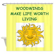 wwodwinds Shower Curtain