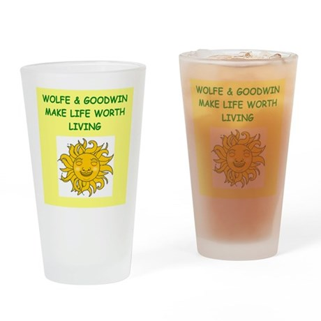 wolfe and goodwin Drinking Glass