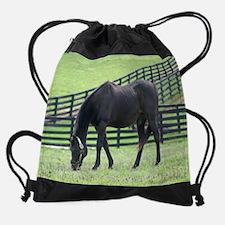 Cute Barbaro horse Drawstring Bag