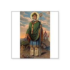 Saint Patrick Oval Sticker