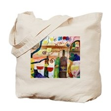 Wine Time Tote Bag