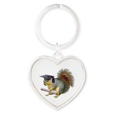 Squirrel Graduation Keychains