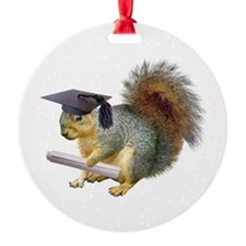 Squirrel Graduation Ornament
