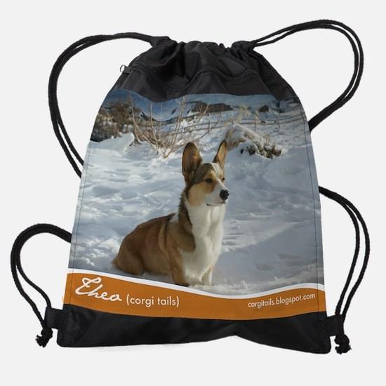 3-january.png Drawstring Bag