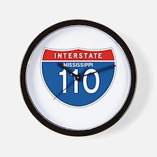 Interstate 110 - MS Wall Clock