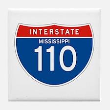 Interstate 110 - MS Tile Coaster