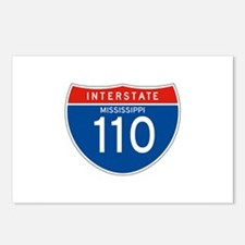 Interstate 110 - MS Postcards (Package of 8)