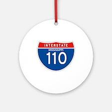 Interstate 110 - MS Ornament (Round)