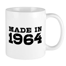 Made In 1964 Small Mugs