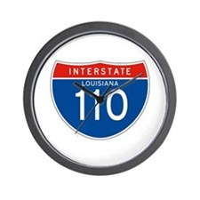 Interstate 110 - LA Wall Clock