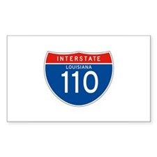 Interstate 110 - LA Rectangle Decal