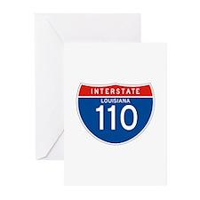 Interstate 110 - LA Greeting Cards (Pk of 10)