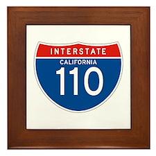 Interstate 110 - CA Framed Tile