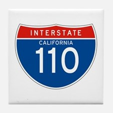 Interstate 110 - CA Tile Coaster