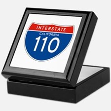 Interstate 110 - CA Keepsake Box