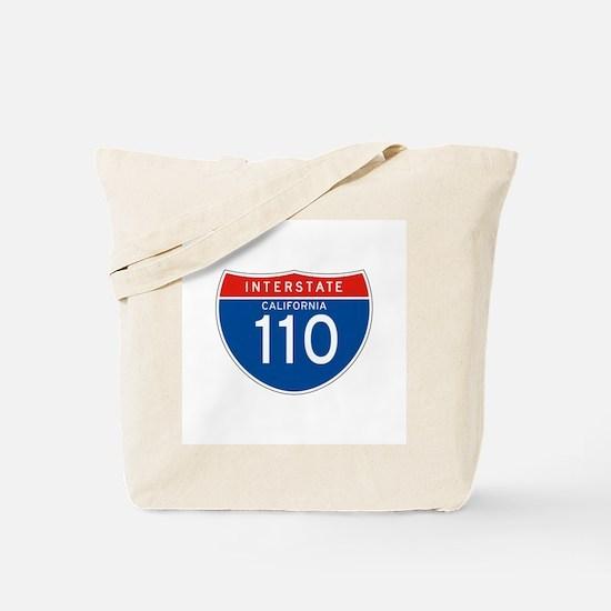 Interstate 110 - CA Tote Bag