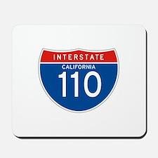 Interstate 110 - CA Mousepad