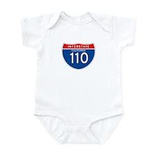 Interstate 110 - CA Infant Bodysuit