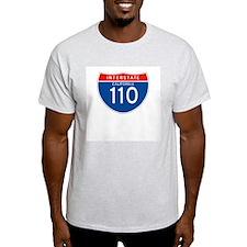 Interstate 110 - CA Ash Grey T-Shirt