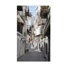Ibiza old town alley Decal