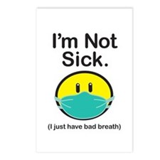 Bad Breath Postcards (Package of 8)