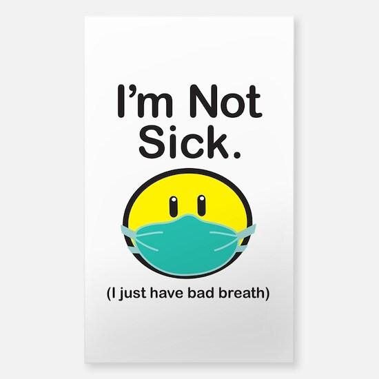 Bad Breath Sticker (Rectangle)