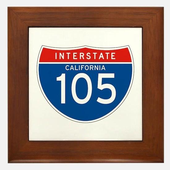 Interstate 105 - CA Framed Tile