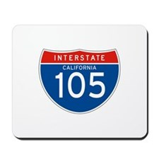 Interstate 105 - CA Mousepad