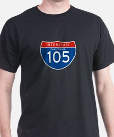 Interstate 105 - CA T-Shirt
