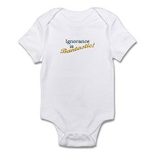 Banned Books Ignorance Infant Bodysuit