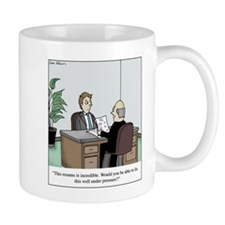 Resume Lie Mugs