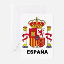 España Greeting Cards (Pk of 10)
