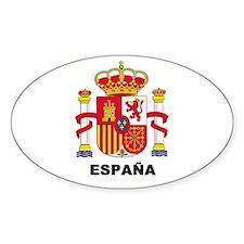 España Oval Decal