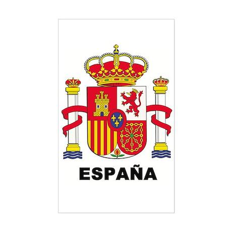 España Rectangle Sticker