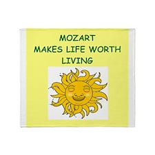 mozart Throw Blanket