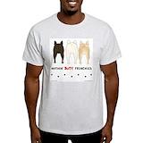 French bulldogs Mens Light T-shirts
