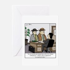 Cool Theft Greeting Card