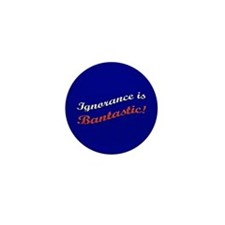 Banned Books Ignorance Mini Button (10 pack)