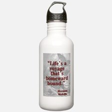 Lifes A Voyage - Melville Water Bottle