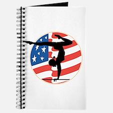 USA Stars and Stripes Gymnastics Design Journal