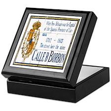 Rue Bourbon Tiles Keepsake Box