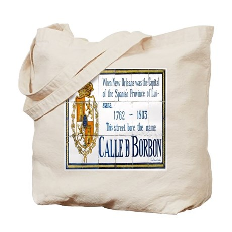 Rue Bourbon Tiles Tote Bag