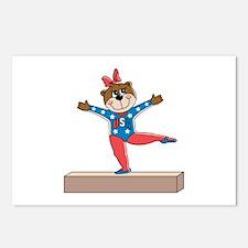USA Gymnastics Bear Postcards (Package of 8)