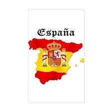 España Rectangle Decal