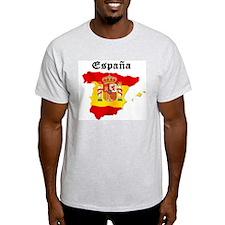 España Ash Grey T-Shirt