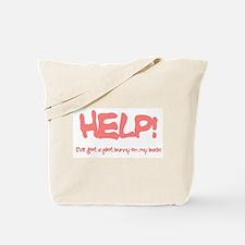 Writer's Pink Plot Bunny Tote Bag