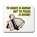 Divine Polka Mousepad